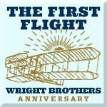 Anniversary of the Wright Brothers' First Flight