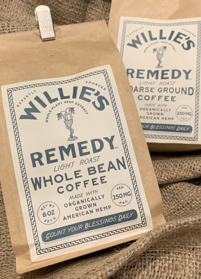 Willie's Remedy Coffees & Teas at the House of Hemp OBX