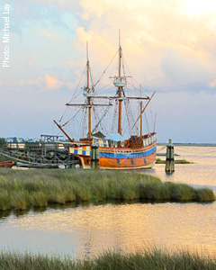 Roanoke Island Attraction