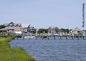 Ocracoke Island Outer Banks Waterfront