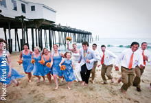 Nags Head Outer Banks Beach Wedding
